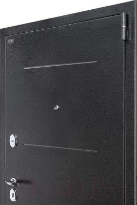 Входная дверь el'Porta Porta S 2 104.П22 Антик серебристый/Wenge Veralinga (88x205, левая)