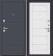 Входная дверь el'Porta Porta S 4.Л22 Graphite Pro/Virgin (98x205, правая) -