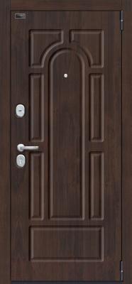 Входная дверь el'Porta Porta S 55.К12 Almon 28/Nordic Oak (98x205, правая)