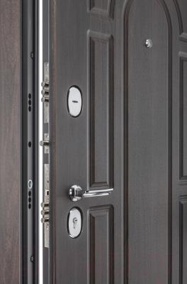 Входная дверь el'Porta Porta S 55.К12 Almon 28/Nordic Oak (88x205, левая)