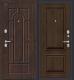 Входная дверь el'Porta Porta S 55.К12 Almon 28/Dark Oak (98x205, правая) -
