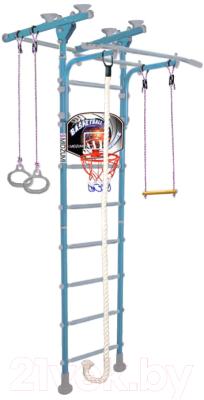 Детский спортивный комплекс Midzumi Hoshi Ton Basketball Shield (небесная лазурь)