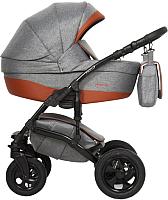 Детская универсальная коляска Riko Fox Light 3 в 1 (01/Coopper) -