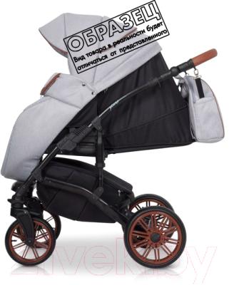 Детская универсальная коляска Riko Piano 3 в 1 (02/Latte)