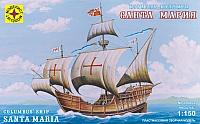 Сборная модель Моделист Корабль Колумба Санта-Мария 1:150 / 115002 -