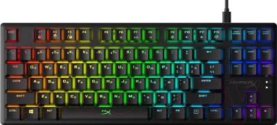 Клавиатура HyperX Alloy Origins Core / HX-KB7RDX-RU