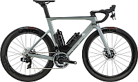 Велосипед BMC Timemachine 01 Road One Sram Red AXS 2020 / 302033 (54, серый/черный/карбон) -