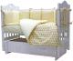 Комплект постельный в кроватку Топотушки 12 месяцев / 361/6 (бежевый) -