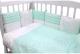 Комплект постельный в кроватку Топотушки Гав-Гав / 671/7 (бирюзовый) -