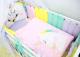 Комплект постельный в кроватку Топотушки Единорог / 677 -