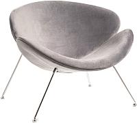 Кресло мягкое Signal Major Velvet (Bluvel14 серый/хром) -