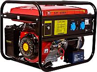 Бензиновый генератор Калибр БЭГ-6500А (59754) -