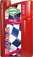 Моторное масло Yacco Galaxie RS 0W40 (2л) -