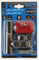 Набор фонарей для велосипеда M-Wave Atlas / 221064 -