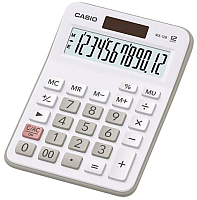 Калькулятор Casio MX-12B-W-EC (белый) -