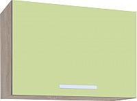 Шкаф под вытяжку Интерлиния Мила ВШГ50-360 (салатовый) -