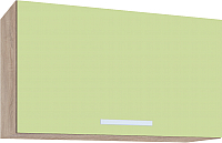 Шкаф под вытяжку Интерлиния Мила ВШГ60-360 (салатовый) -