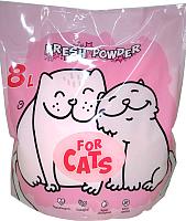 Наполнитель для туалета For Cats Силикагелевый Fresh Powder / TUZ037 (8л) -