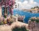 Картина по номерам Picasso Дом с причалом (PC4050569) -