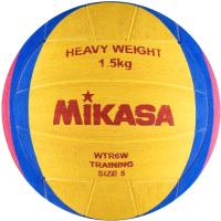 Мяч для водного поло Mikasa WTR6W (желтый/синий/розовый) -