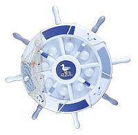 Потолочный светильник Kinklight Штурвал 07427.55 (синий/голубой) -