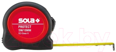 Фото - Рулетка Sola Protect 50550501 уровень 1000мм 2 глазка asx 100 sola бюджетное предложение от sola сделано в австрии 01153301