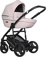 Детская универсальная коляска Riko Aicon Pastel 3 в 1 (01/розовый) -