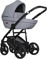 Детская универсальная коляска Riko Aicon Pastel 3 в 1 (04/серый) -