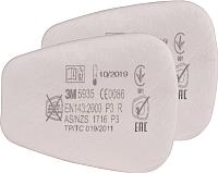 Предфильтр для защитной маски 3M 5935 P3 / TI551152356 (2шт) -