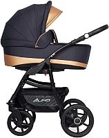 Детская универсальная коляска Riko Alfa Ecco 3 в 1 (02/Gold) -