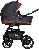 Детская универсальная коляска Riko Alfa Ecco 3 в 1 (03/Cognac) -