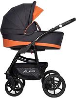 Детская универсальная коляска Riko Alfa Ecco 3 в 1 (06/Orange) -