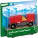Вагон игрушечный Brio Грузовой вагончик с золотом / 33938 -