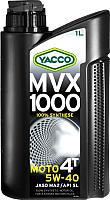 Моторное масло Yacco MVX 1000 4T 5W40 (1л) -