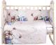 Комплект постельный в кроватку Alis Счастливчик NEW 4 Мальчик (бязь) -