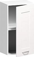 Шкаф навесной для кухни Заречье Румба РБ20 (белый/фасад Weave) -