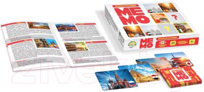 Настольная игра Десятое королевство МЕМО Флаги и столицы / 03596