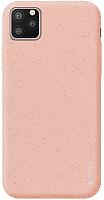 Чехол-накладка Deppa Eco Case для iPhone 11 Pro Max / 87284 (розовый) -