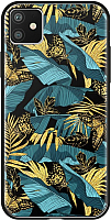 Чехол-накладка Deppa Glass Case для iPhone 11 / 87261 (джунгли) -