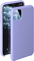 Чехол-накладка Deppa Liquid Silicone Case для iPhone 11 Pro Max / 87312 (лавандовый) -