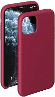 Чехол-накладка Deppa Liquid Silicone Case для iPhone 11 Pro / 87289 (красный) -