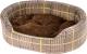 Лежанка для животных Ferplast Dandy F 45 / 82941098 (зеленые линии) -