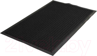 Коврик грязезащитный Kovroff Стандарт ребристый 120x180 / 20801 (черный)
