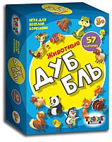 Настольная игра Topgame ДуББль. Животные / 01516 -