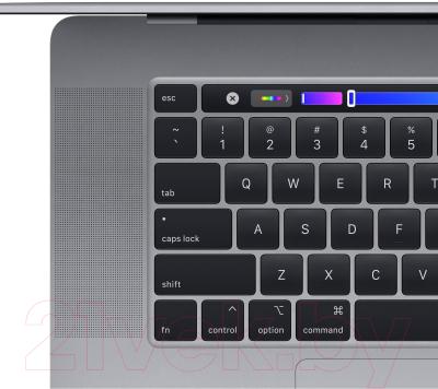 "Ноутбук Apple MacBook Pro 16"" Touch Bar 2019 1TB / MVVK2 (серый космос)"