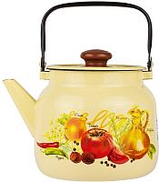 Чайник Лысьвенские эмали Итальянская кухня С-2713 П2/4Км -