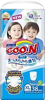 Подгузники-трусики детские Goo.N Unisex XL (38шт) -