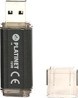 Usb flash накопитель Platinet Pendrive USB 3.0 V3-Depo 16GB Black / PMFV316B -