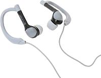 Наушники-гарнитура Platinet Sport PM1072GR Bluetooth (черный/серый) -