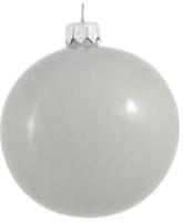 Елочная игрушка Orbital Шар 200-026-13 (8см, серый/эмаль) -